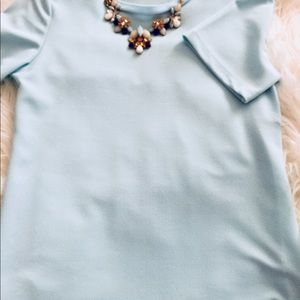 Ann Taylor baby blue top